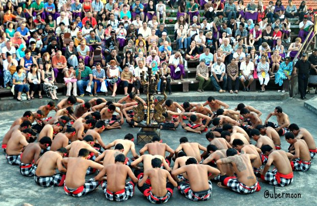 The famous Kecak Dance..