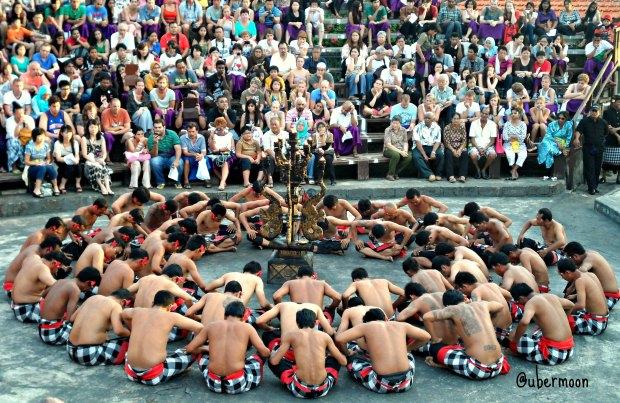 The famous Kecak Dance..