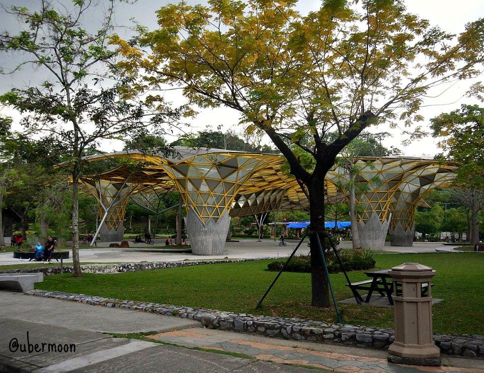 Amphitheater at Perdana Botanical Garden