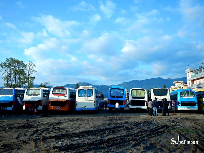 pokhara tourist bus station