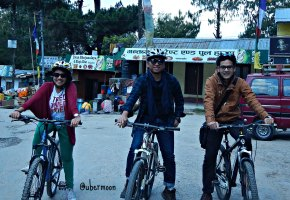 bike-riding-nagarkot
