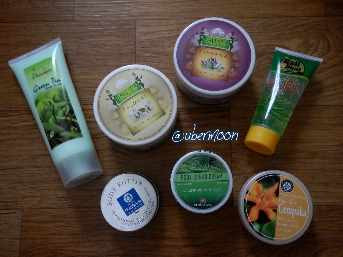 Favorite Bali Skincare Products The Uber Journey Buy 1 Get Green Tea Alus Lulur Srub
