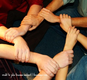 Linked Hands - FreeImages