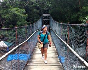 Bukit Lawang Hanging Bridge